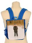 Blå ryggsäck i barnstorlek