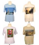 T-shirt i 4 läckra färger